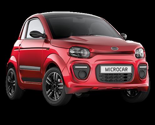 Microcar DUE6 Plus Pack Design