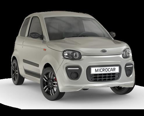 Microcar MGO6 Plus Pack Design